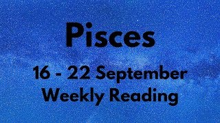 PISCES THEY'LL BE SHOCKED WHEN YOU DO THIS! SEPTEMBER 16th - 22nd