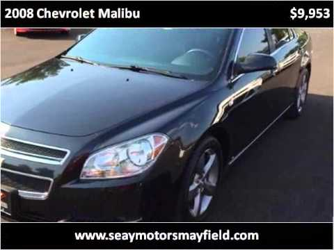 2008 chevrolet malibu used cars mayfield ky youtube for Seay motors mayfield ky