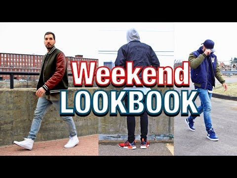 83ddeaa5f OUTFITS OF THE WEEKEND - Adidas NMD - Vans Sk8 Hi - Nike Air Force 1 -  Men s Fashion LOOKBOOK 6