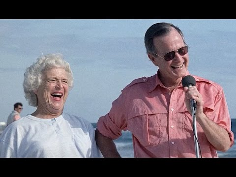 George H.W. Bush, Barbara Celebrate 72nd Wedding Anniversary | ABC News