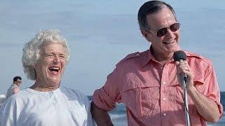 George H.W. Bush, Barbara Celebrate 72nd Wedding Anniversary | ABC News