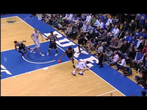 Duke's Allen gets flagrant for intentional trip