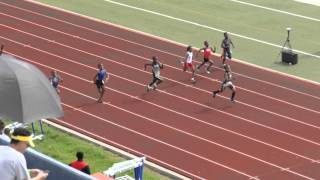 2015 USATF GULF ASSOCIATION FINALS - 100 METERS - 8 UNDER BOYS