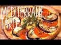 Mediterrane Tarte mit Käsekruste - glutenfrei & easy peasy