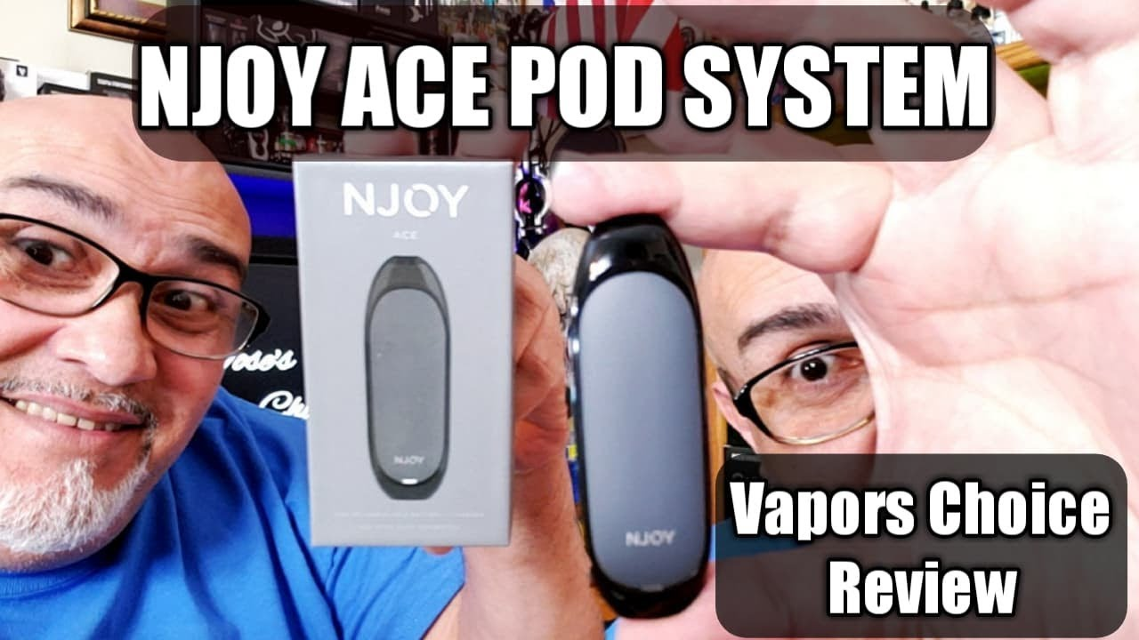 NJOY ACE POD SYSTEM DEVICE with FLAVORED CARTAGE! VAPORS CHOICE 21+🚫