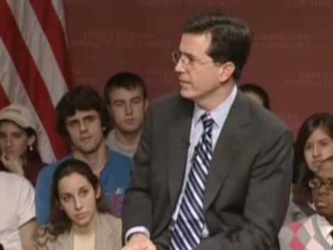 Stephen Colbert Interview at Harvard: 5 of 7