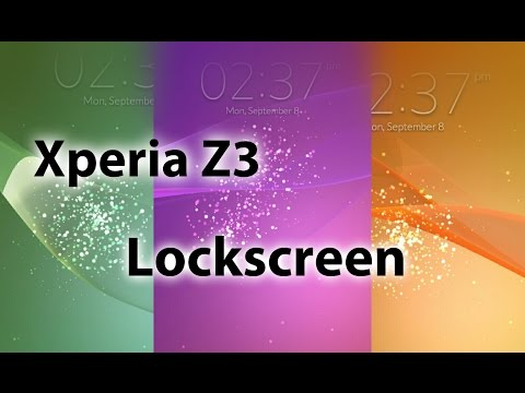Xperia Z3 Lockscreen App on any Android Device
