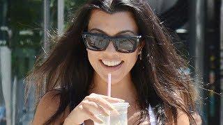 Kourtney Kardashian SPOTTED With A Scott Disick Lookalike On A Juice DATE!