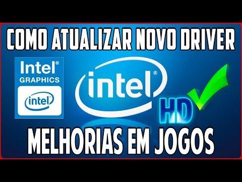 Como Atualizar o Driver Novo da Intel HD Graphics DCH Para Windows 10 Passo a Passo