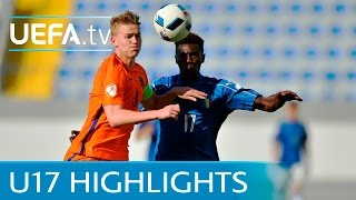 Watch the best of the action from Group D as the Netherlands got th...