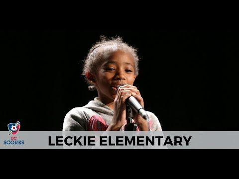 Leckie Elementary School performs at 2017 Poetry Slam!