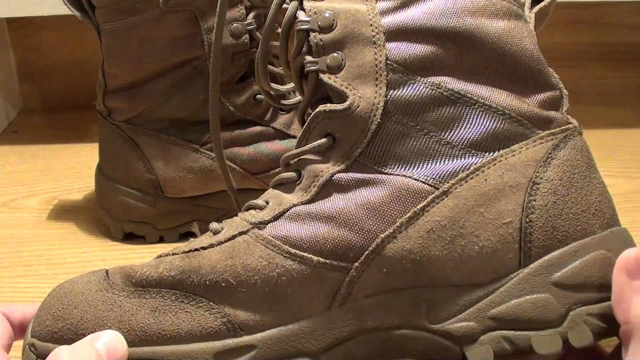 Blackhawk Warrior Wear Desert Ops Boots Youtube