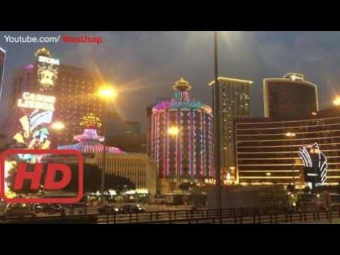 Grand Emperor Hotel Lisboa Casino Around me in Macau China | Great time Shining lights  #MOA
