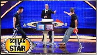 Spiel 2: Buchstabensalat - Axel Stein vs. Michael Wendler - Schlag den Star