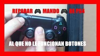 Reparar Mando de PS4 que no le funcionan botones