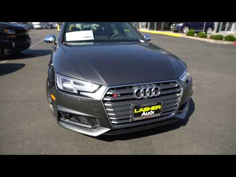 """2018 Audi S4 Prestige with """"S"""" Sport Package and 19"""" V-Spokes"""
