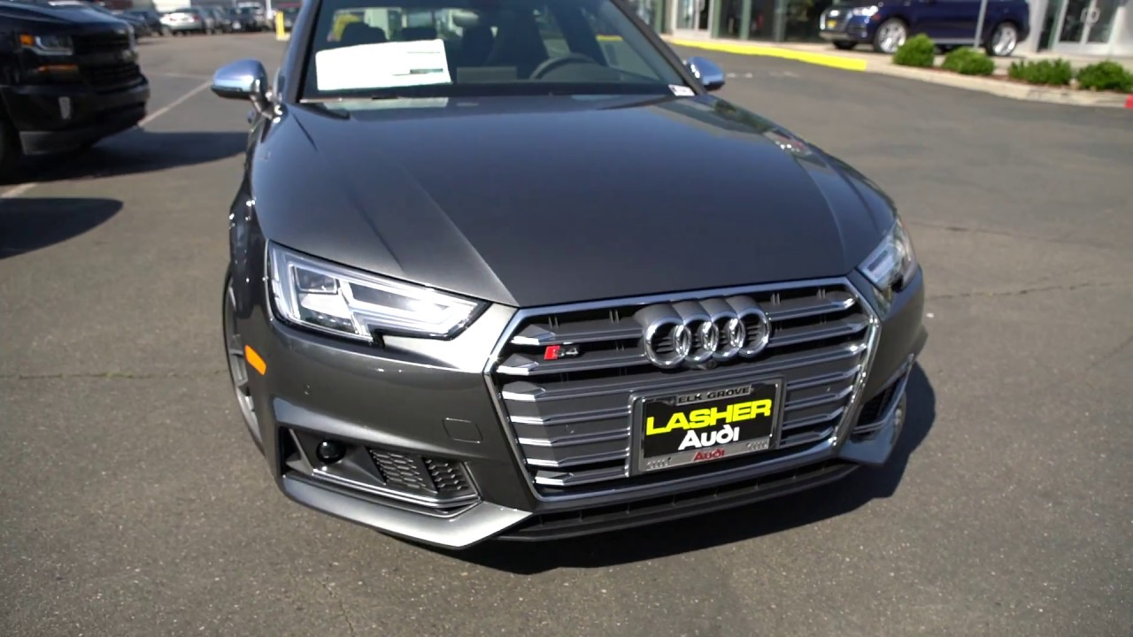 2018 Audi S4 Prestige With Quot S Quot Sport Package And 19 Quot V