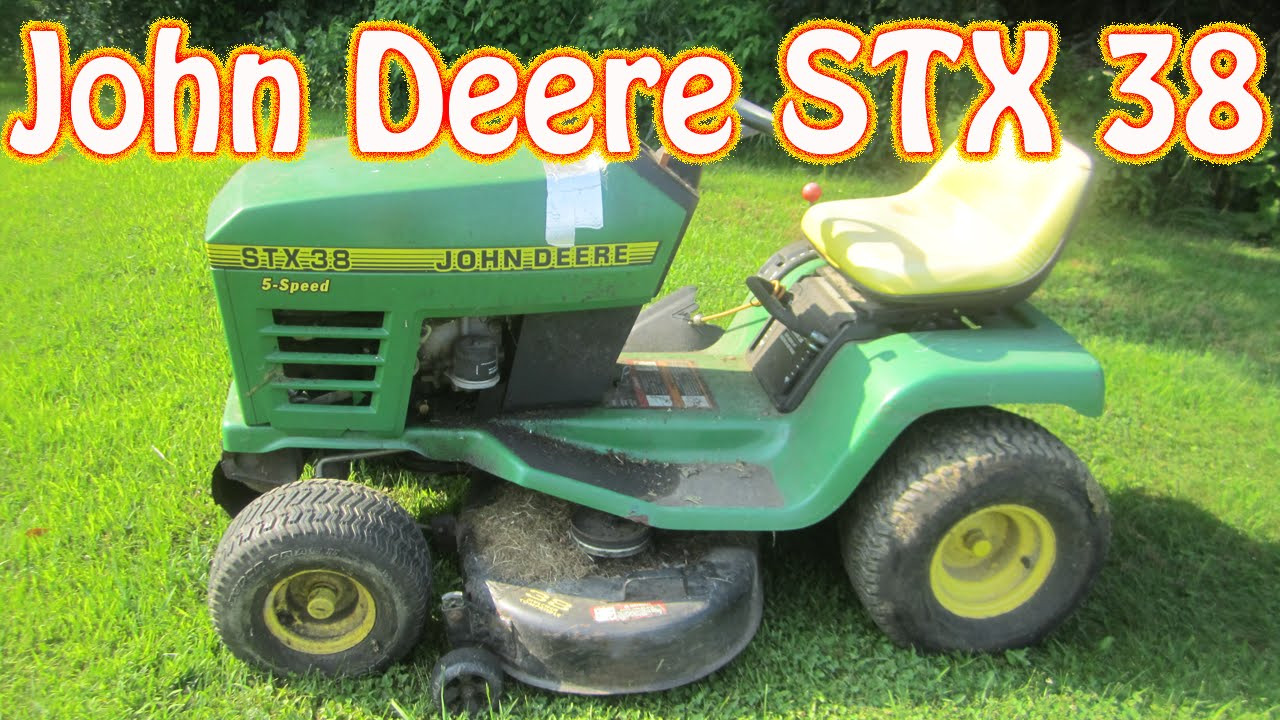 John Deere Stx 38 Riding Lawn Mower For In Maine