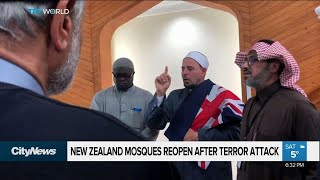 New Zealand mosques reopen after terror attack