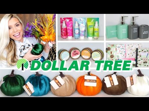 DOLLAR TREE HAUL | VELVET PUMPKINS & NEW FINDS | JULY 2019