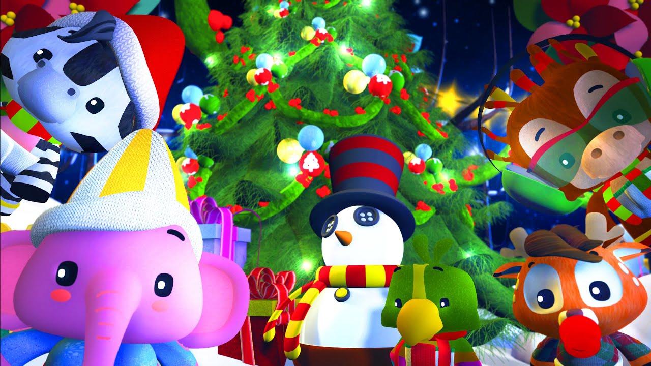 Jingle Bells | One Horse Open Sleigh | Christmas Song for Children ...