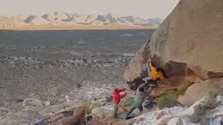 Ethan Pringle and Matt Wilder - Bouldering Red Rock, Nevada.