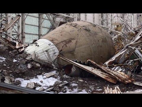 Baikonur Cosmodrome's abandoned Buran space shuttles