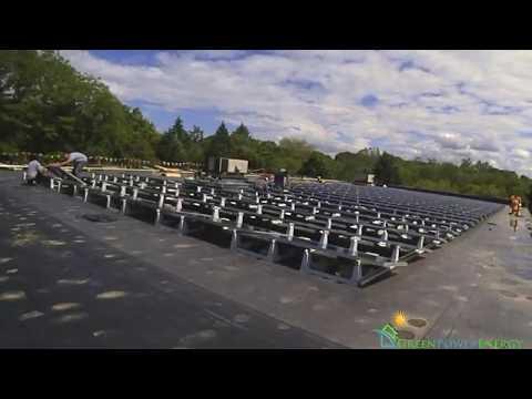 Hesco Lighting: Solar Installation, Time-Lapse (6/2017)