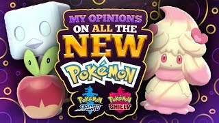 My Opinions on Every New Pokemon in Sword and Shield
