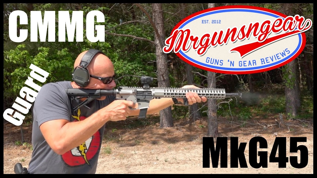 CMMG MkG45 Guard: AR-15 Carbine In 45 ACP That Takes Glock Mags (HD)