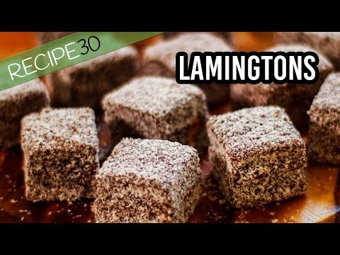 How To Make Australian Chocolate Lamingtons