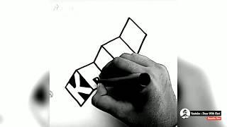 How to Draw Block Letters: Alphabet Tutorial / Alphabet