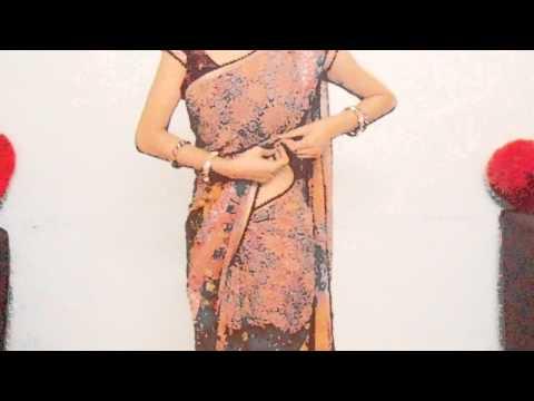 How To Drape Fish Cut Saree-How To Wear Saree For Curvies Look/Perfect Pleats Sari