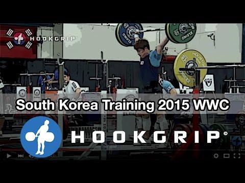 Team South Korea - 2015 WWC Training Hall (Nov 17 Part 1)