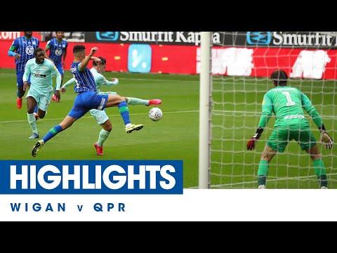 Wigan QPR Goals And Highlights