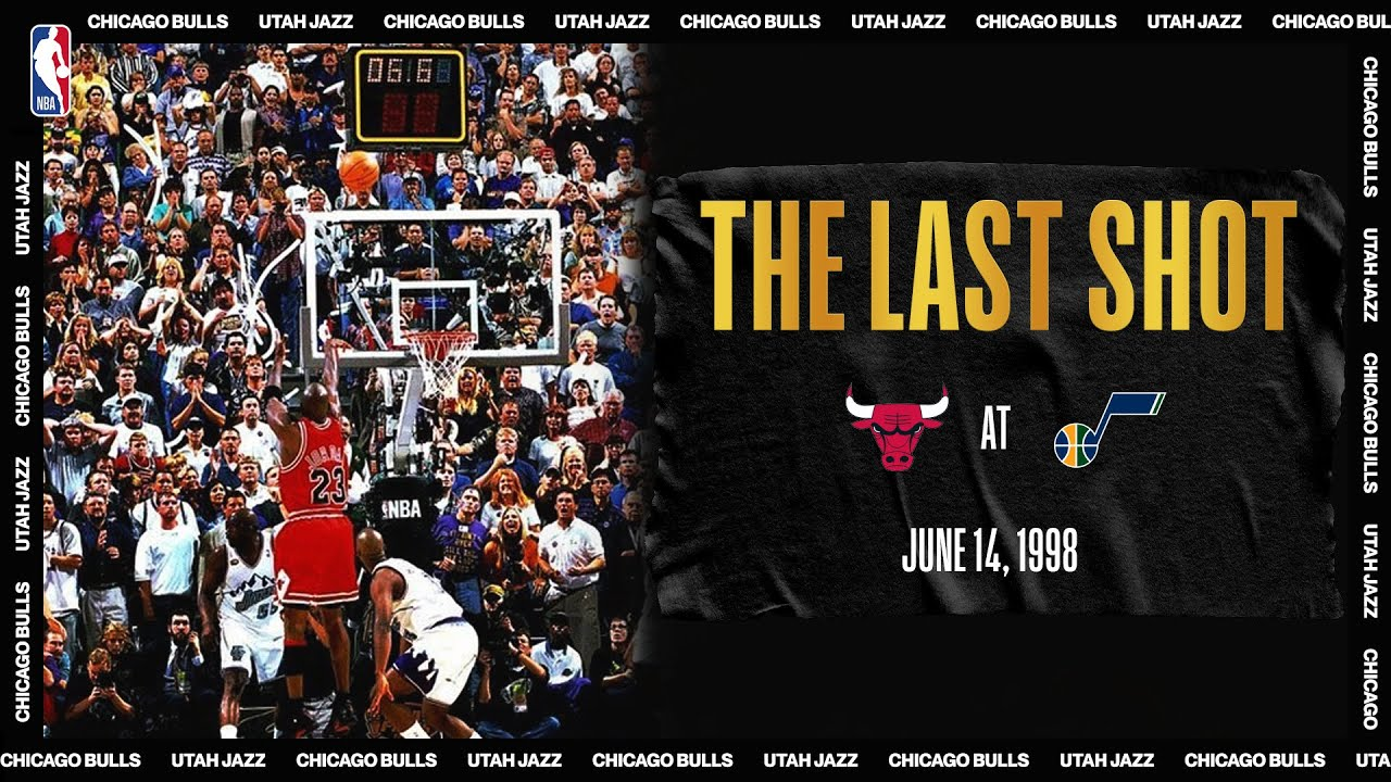 "Michael Jordan ""The Last Shot"" 