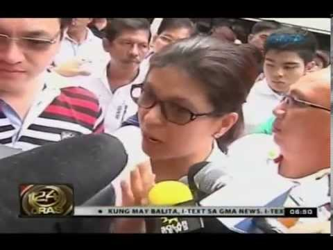 Sen. Revilla, kusang pumunta sa sandiganbayan para harapin ang arrest warrant