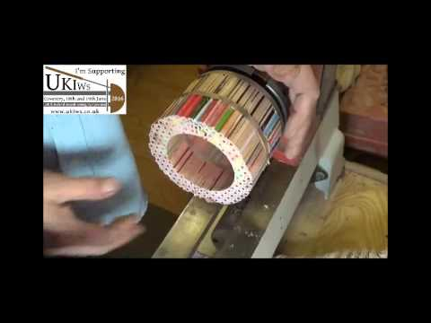 Woodturning At 54a 44 A Pencil Box Youtube