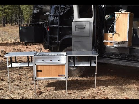 The Ultimate Van Kitchen for DIY Campervan Conversions
