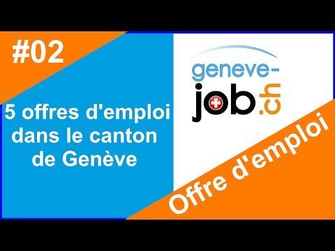 Offres d'emploi Genève en Suisse : https://geneve-job.ch/ - La république et le canton de Genève etc