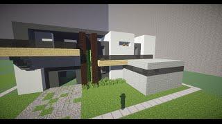 Minecraft | Vamos a construir - Casa Moderna 2 | Texture Pack Default Ep. 1