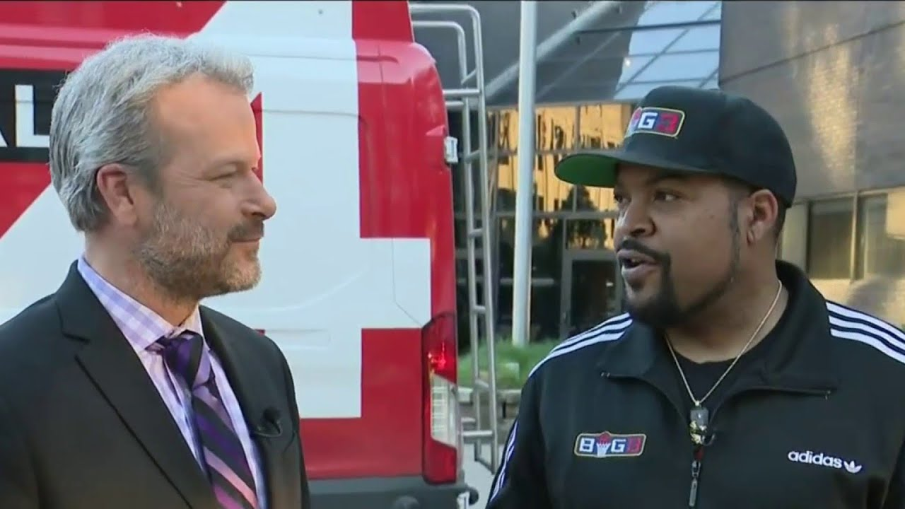 Ice Cube is bringing the Big 3 to Little Caesars Arena this Saturday