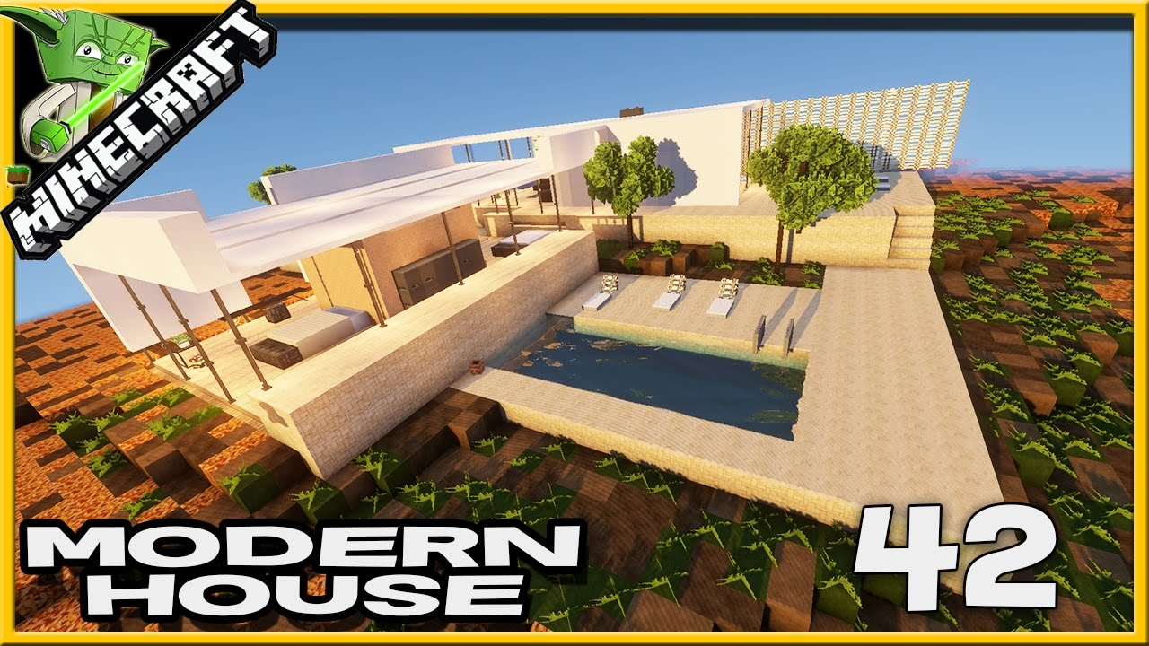 showcase minecraft modern house 42 youtube