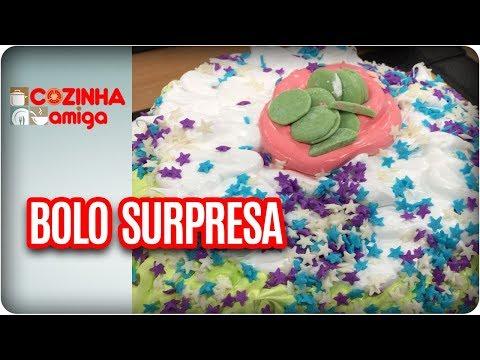 Bolo Surpresa - Dalva Zanforlin | Cozinha Amiga (18/01/18)
