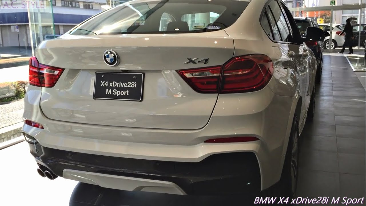 bmw x4 xdrive28i m sport youtube. Black Bedroom Furniture Sets. Home Design Ideas