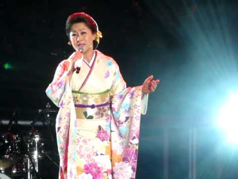 Etsuko Shimazu Enka singer at Japan Festival  in London