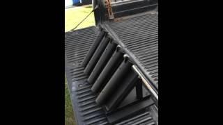 Truck Fishing Pole Rack