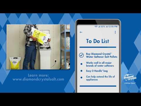 Benefits Of Diamond Crystal® Water Softener Salt