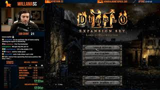 DIABLO 2 - HELL SORCERESS SPEEDRUN - MY MOST INSANE END