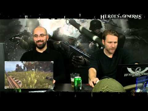 Heroes & Generals Devstream #47: Live from Copenhagen